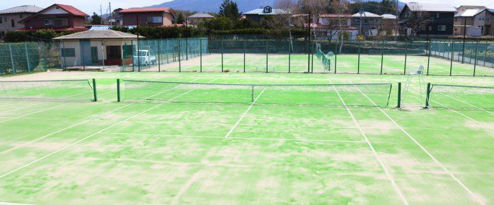【即日予約可】8月のテニスコート