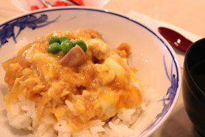 人気メニュー 「親子丼」
